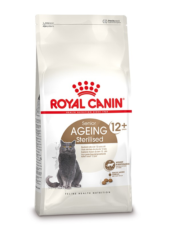 Royal Canin Ageing Sterilised 12+ 4 kg