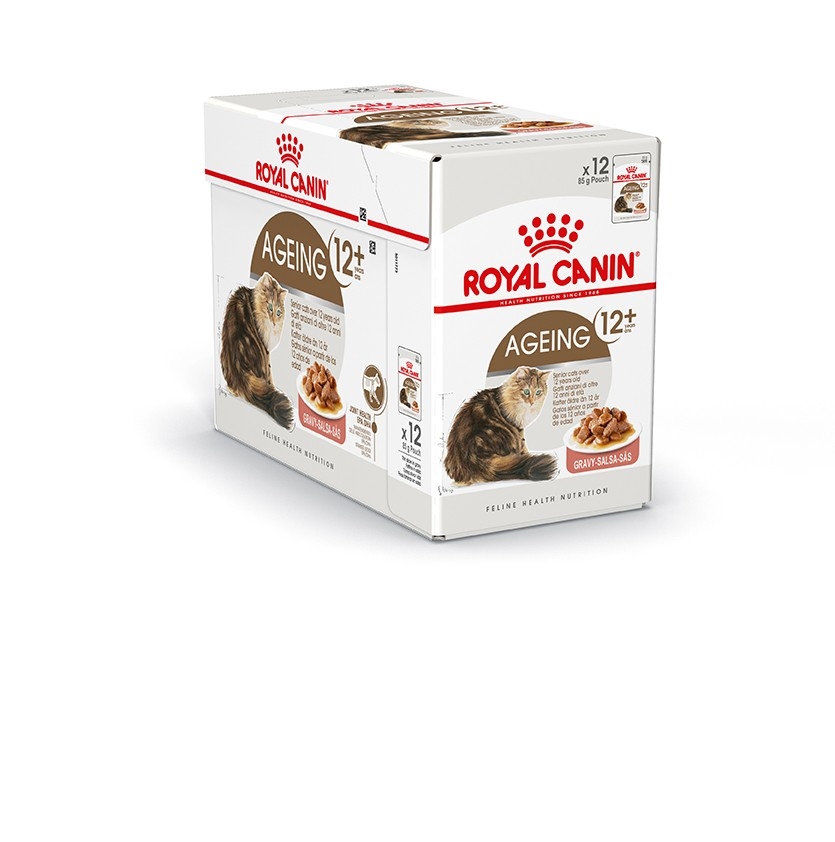 Royal Canin Ageing 12+ in Gravy 12x85 gr