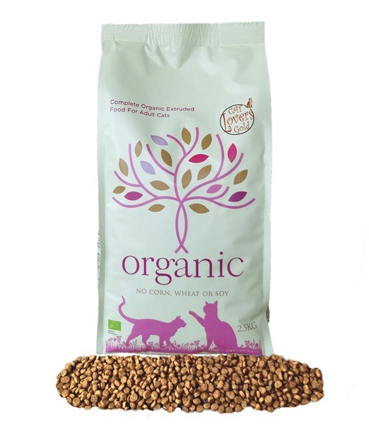 Catlovers Organic 2.5 kg