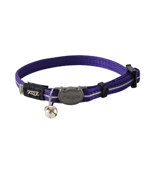 AlleyCat Halsband XS Purple