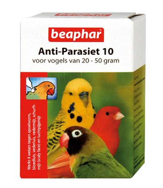 Anti Parasiet Vogels 10 - 2 pipet