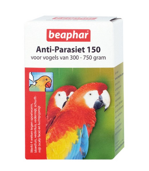 Anti Parasiet Vogels 150 - 2 pipet