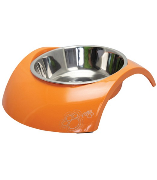 Rogz Bowlz Luna Large Orange